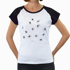 Spiders Women s Cap Sleeve T
