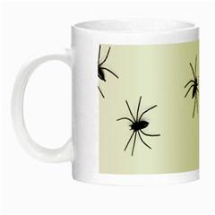 Spiders Night Luminous Mugs