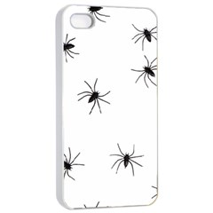 Spiders Apple iPhone 4/4s Seamless Case (White)