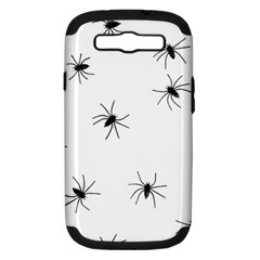 Spiders Samsung Galaxy S III Hardshell Case (PC+Silicone)