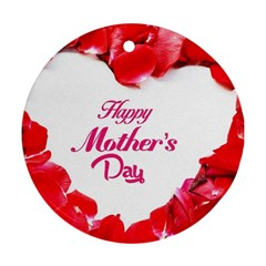 Happy Mothers Day Ornament (Round)