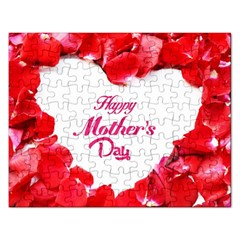 Happy Mothers Day Rectangular Jigsaw Puzzl