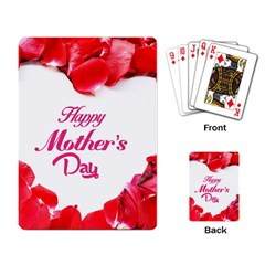 Happy Mothers Day Playing Card