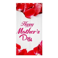 Happy Mothers Day Shower Curtain 36  x 72  (Stall)
