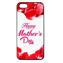 Happy Mothers Day Apple iPhone 5 Seamless Case (Black)