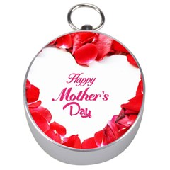 Happy Mothers Day Silver Compasses