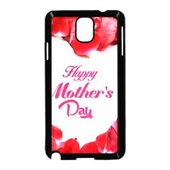 Happy Mothers Day Samsung Galaxy Note 3 Neo Hardshell Case (Black)