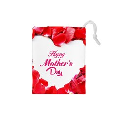 Happy Mothers Day Drawstring Pouches (Small)