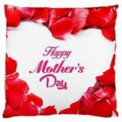 Happy Mothers Day Large Flano Cushion Case (Two Sides)
