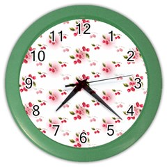 Vintage Cherry Color Wall Clocks