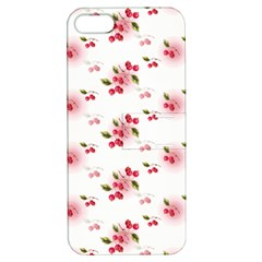 Vintage Cherry Apple iPhone 5 Hardshell Case with Stand