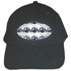 Disco Balls Black Cap