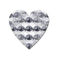 Disco Balls Heart Magnet