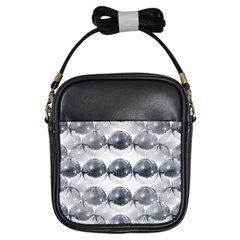 Disco Balls Girls Sling Bags