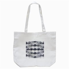 Disco Balls Tote Bag (White)