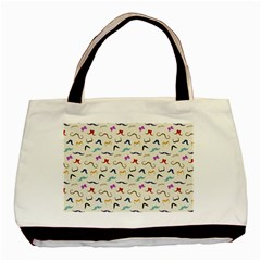 Mustaches Basic Tote Bag