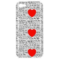 I Love You Apple iPhone 5 Hardshell Case