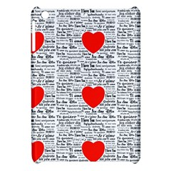 I Love You Apple iPad Mini Hardshell Case