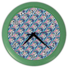 holographic Hologram Color Wall Clocks