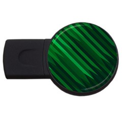 Abstract Blue Stripe Pattern Background Usb Flash Drive Round (4 Gb)