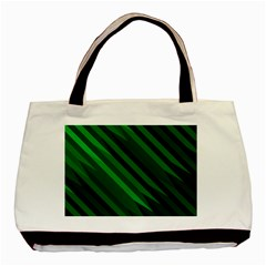 Abstract Blue Stripe Pattern Background Basic Tote Bag
