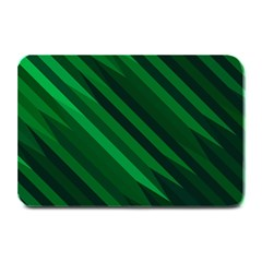 Abstract Blue Stripe Pattern Background Plate Mats