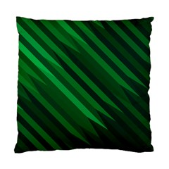 Abstract Blue Stripe Pattern Background Standard Cushion Case (Two Sides)