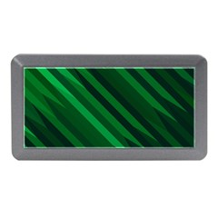 Abstract Blue Stripe Pattern Background Memory Card Reader (Mini)
