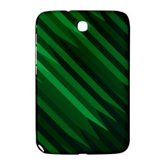 Abstract Blue Stripe Pattern Background Samsung Galaxy Note 8.0 N5100 Hardshell Case