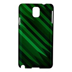 Abstract Blue Stripe Pattern Background Samsung Galaxy Note 3 N9005 Hardshell Case