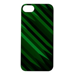 Abstract Blue Stripe Pattern Background Apple Iphone 5s/ Se Hardshell Case