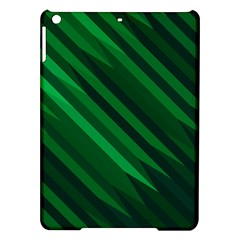 Abstract Blue Stripe Pattern Background Ipad Air Hardshell Cases