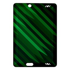 Abstract Blue Stripe Pattern Background Amazon Kindle Fire HD (2013) Hardshell Case