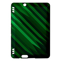 Abstract Blue Stripe Pattern Background Kindle Fire HDX Hardshell Case