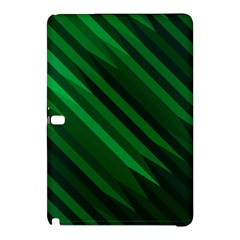 Abstract Blue Stripe Pattern Background Samsung Galaxy Tab Pro 12.2 Hardshell Case