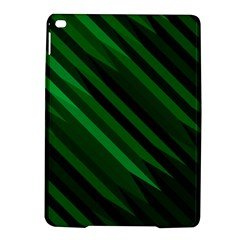 Abstract Blue Stripe Pattern Background iPad Air 2 Hardshell Cases