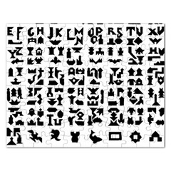 Anchor Puzzle Booklet Pages All Black Rectangular Jigsaw Puzzl