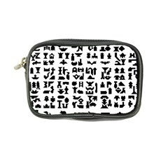 Anchor Puzzle Booklet Pages All Black Coin Purse