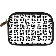 Anchor Puzzle Booklet Pages All Black Digital Camera Cases