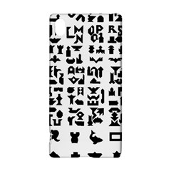 Anchor Puzzle Booklet Pages All Black Sony Xperia Z3+