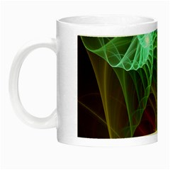 Art Shell Spirals Texture Night Luminous Mugs