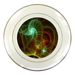 Art Shell Spirals Texture Porcelain Plates