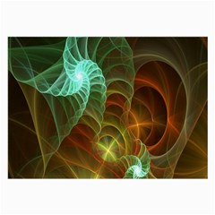 Art Shell Spirals Texture Large Glasses Cloth (2-Side)