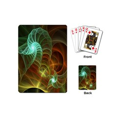Art Shell Spirals Texture Playing Cards (Mini)