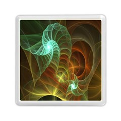 Art Shell Spirals Texture Memory Card Reader (square)