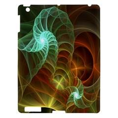 Art Shell Spirals Texture Apple iPad 3/4 Hardshell Case