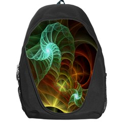 Art Shell Spirals Texture Backpack Bag