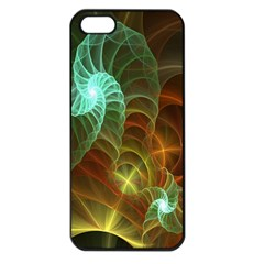 Art Shell Spirals Texture Apple iPhone 5 Seamless Case (Black)