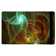 Art Shell Spirals Texture Apple iPad 3/4 Flip Case