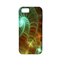 Art Shell Spirals Texture Apple Iphone 5 Classic Hardshell Case (pc+silicone)